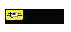 Frontier Accessibilité logo-lien vers la page d'accueil